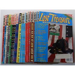 Lost Treasure Magazine 1991 Issues