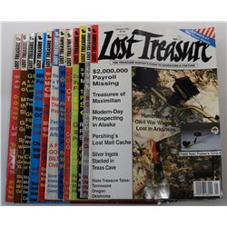 Lost Treasure Magazine 1992 Issues