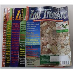 Lost Treasure Magazine 2000 through 2001 Issues