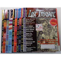 Lost Treasure Magazine 2002 Issues