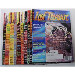 Lost Treasure Magazine 2003 through 2004 Issues