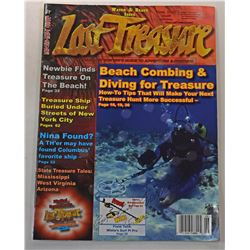 Lost Treasure Magazine June 2007 Issue Signed by Carl Fismer