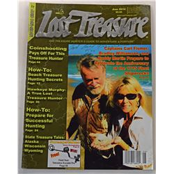 Lost Treasure Magazine June 2014 Issue Signed by Carl Fismer