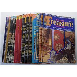 Saga Magazine 1970 through 1978 Special Treasure Issues