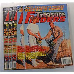 Treasure Finders | Treasure Seekers Magazines 1995 through 2000 Issues