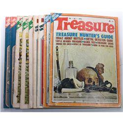 Treasure Magazine 1970 Issues