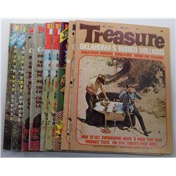 Treasure Magazine 1971 Issues