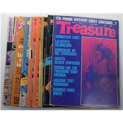 Treasure Magazine 1972 Issues