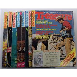 Treasure Magazine 1973 Issues
