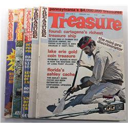 Treasure Magazine 1975 Issues