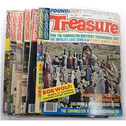 Treasure Magazine 1977 Issues