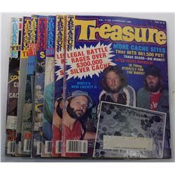 Treasure Magazine 1986 Issues