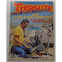 Treasure Magazine March 1987 Issue Signed by Carl Fismer