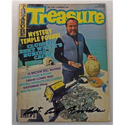 Treasure Magazine November 1988 Issue Signed by Carl Fismer