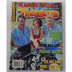 Treasure Magazine April 1991 Issue Signed by Carl Fismer