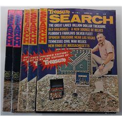 Treasure Search Magazine 1973 through 1974 Issues