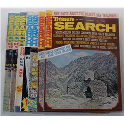 Treasure Search Magazine 1975 through 1976 Issues