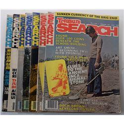 Treasure Search Magazine 1977 Issues