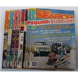 Treasure Search Magazine 1978 Issues