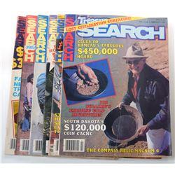 Treasure Search Magazine 1980 Issues