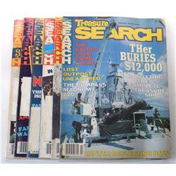 Treasure Search Magazine 1981 Issues