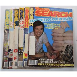Treasure Search Magazine 1982 Issues