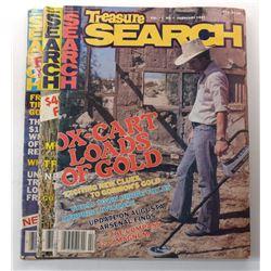 Treasure Search Magazine 1983 through 1984 Issues