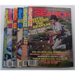 Treasure Search Magazine 1985 Issues