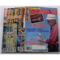 Treasure Search Magazine 1986 Issues