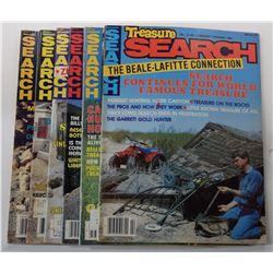 Treasure Search Magazine 1987 through 1989 Issues