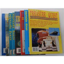 Treasure Quest Magazine 1991 through 1998 Issues