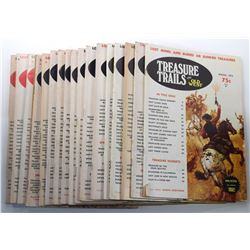 Treasure Trails of the Old West Magazine Complete Series