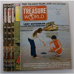 Treasure World Magazine 1969 through 1975 Issues