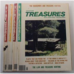 Western & Eastern Treasures Magazine 1970s Issues