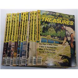 Western & Eastern Treasures Magazine 1981 Issues