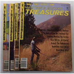 Western & Eastern Treasures Magazine 1982 through 1983 Issues