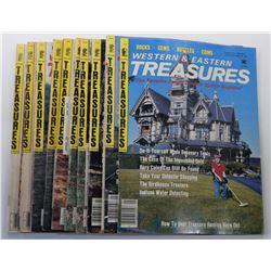 Western & Eastern Treasures Magazine 1985 Issues