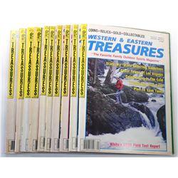 Western & Eastern Treasures Magazine 1987 Issues