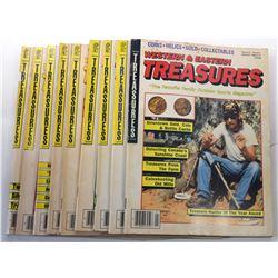Western & Eastern Treasures Magazine 1988 Issues