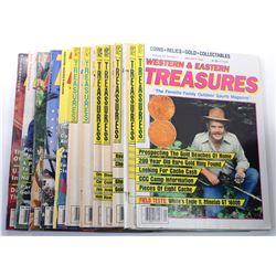 Western & Eastern Treasures Magazine 1989 Issues