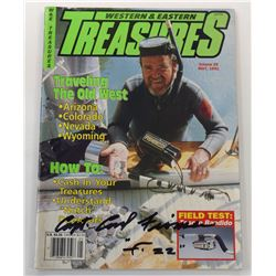 Western & Eastern Treasures Magazine May 1991 Issue Signed by Carl Fismer