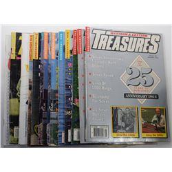 Western & Eastern Treasures Magazine 1991 through 1992 Issues