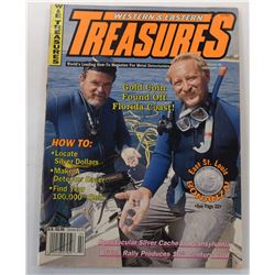 Western & Eastern Treasures Magazine February 1992 Issue Signed by Carl Fismer