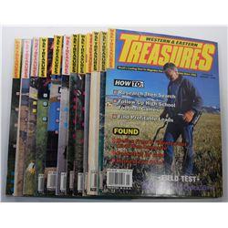 Western & Eastern Treasures Magazine 1995 Issues