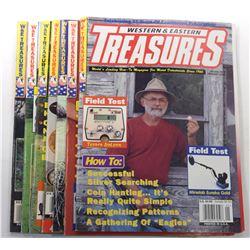 Western & Eastern Treasures Magazine 2004 through 2009 Issues