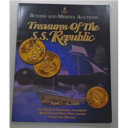 Bowers and Merena Galleries. TREASURES OF THE S.S. REPUBLIC
