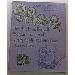 Bowers and Ruddy Galleries. THE HAROLD A. BLAUVELT, IBEROAMERICAN AND 1715 SPANISH TREASURE FLEET CO