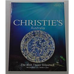 Christie's Australia. THE BINH THUAN SHIPWRECK