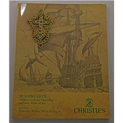 Christie's London. SPANISH ART I: TREASURE FROM THE MARAVILLAS AND OTHER WORKS OF ART