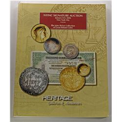 Heritage Galleries. THE JULES REIVER COLLECTION OF GREAT BRITAIN COINS